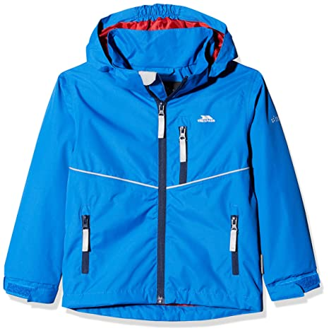 67ab39a60 Trespass Kids Hattrick Waterproof Rain Outdoor Jacket with Removable ...