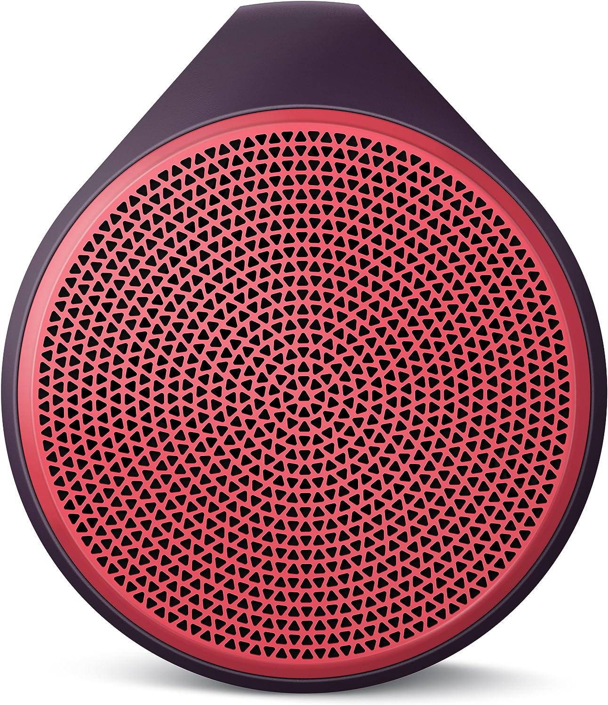 Logitech 984-000363 X100 Mobile Wireless Speaker (Red)