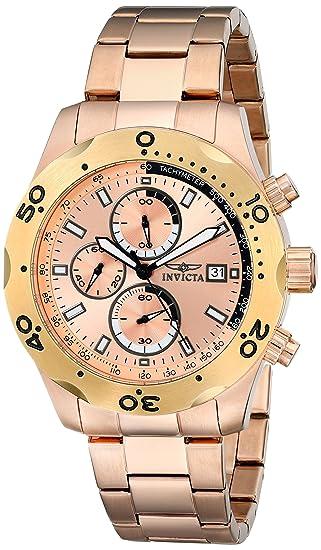 Invicta 17755 - Reloj para Hombres Color Oro Rosa