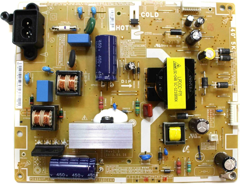 Samsung fuente de alimentación para TV modelo 37eh5000fxza parte no. BN44 – 00496 A: Amazon.es: Electrónica