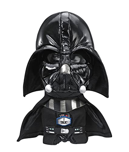 Amazon Com Star Wars Plush Stuffed Talking 9 Darth Vader