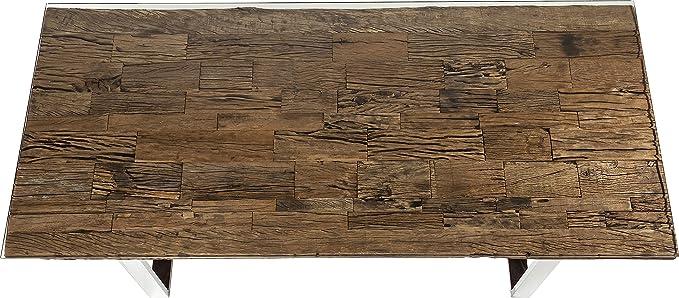 Kare Design Tisch 200x90cm, massiver Esstisch mit rustikaler