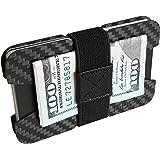 FIDELO Credit Card Holder Minimalist Wallet – Carbon Fiber Slim Wallet Money Clip