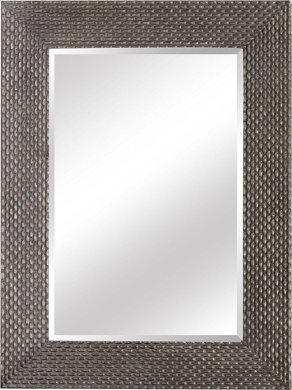 SBC Decor Terrace Weave Wall Mirror, 34 5/8