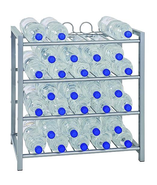 Haku Möbel Flaschenständer Aluminium 54 X 31 X 60 Cm Amazonde