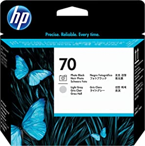 HP 70 Photo Black & Light Gray DesignJet Printhead (C9407A) for DesignJet Z5400, Z5200, Z3200, Z3100 & Z2100 Large Format Printers