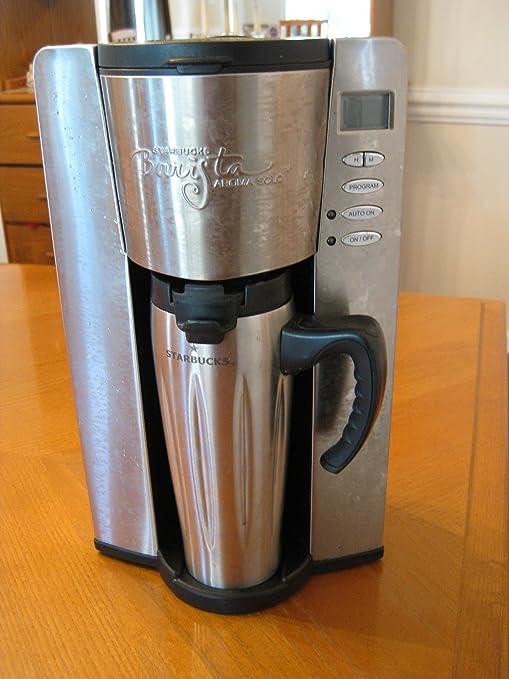 Starbucks Barista Aroma Solo Home Brewer Amazoncouk