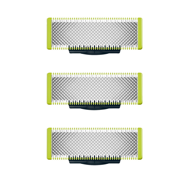 Philips OneBlade QP230/50 - Pack con 3 cuchillas de recambio