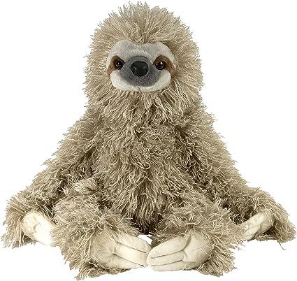 Wild Republic Cuddlekin Three Toed Sloth Plush (12-inch)