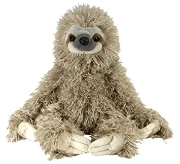 Amazon Com Wild Republic Cuddlekin Three Toed Sloth 12 Plush Wild