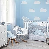 Deals on Little Love by NoJo 5-Pcs Comforter Set, Happy Little Clouds