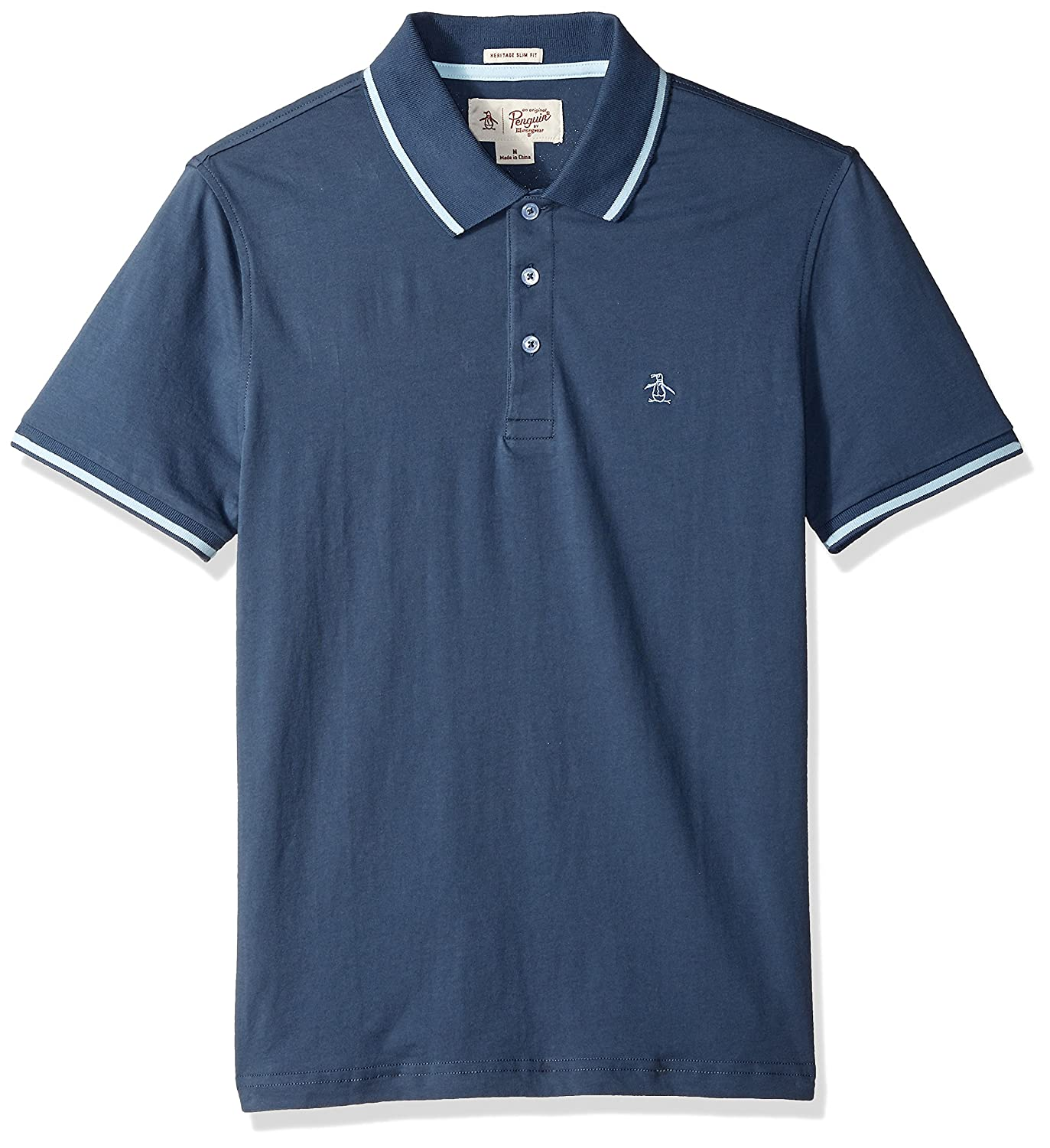 Original Penguin Mens Short Sleeve Polo with Tipping