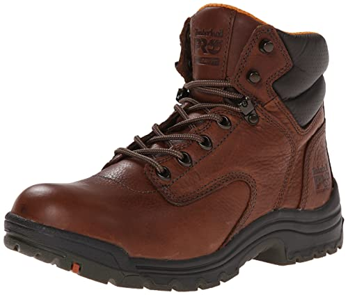 055398210 Timberland PRO Women's TiTAN Work Boots - Coffee