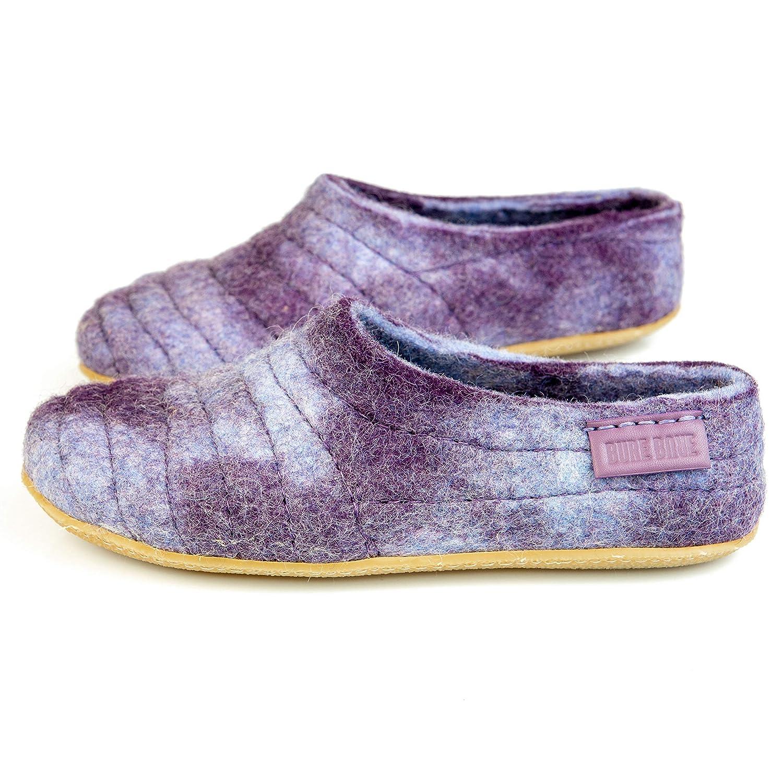 BureBure Womens House Slip-On Slippers Warm Wool So Comfy Cocoon Handmade in Europe