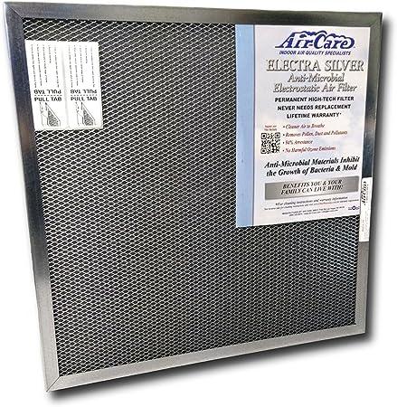 12x12x1 Permanent Washable Electrostatic HVAC Filter with LIFETIME WARRANTY