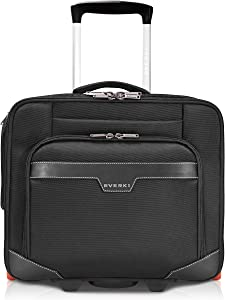 EVERKI JOURNEY Laptop Trolley Rolling Briefcase 11 Inch to 16 Inch Adaptable Compartment (EKB440)