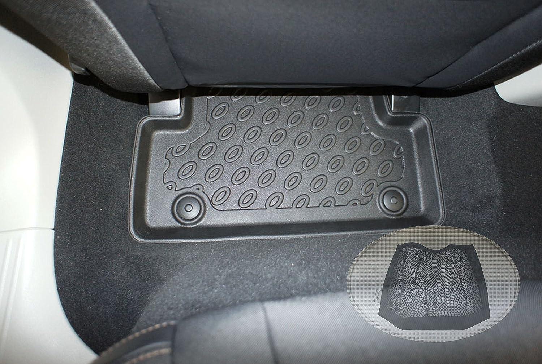 Resistente Set tappeti Auto per V40 in Gomma Antiscivolo lavbile e ritagliabile per Maggiore adattabilit/à inodore