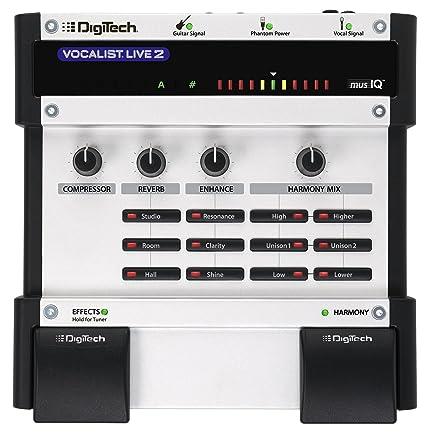 amazon com digitech vocalist live 2 vocal harmony effects processor rh amazon com Digitech Vocalist Live 4 Digitech Vocalist Live 3
