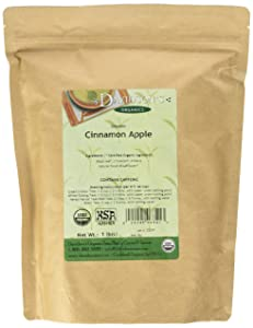Davidson's Organic Tea Bulk, Cinnamon Apple, 16-Ounce Bag