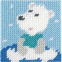 DMC Kit de tapiz, lienzo, multicolor, 15x 15cm
