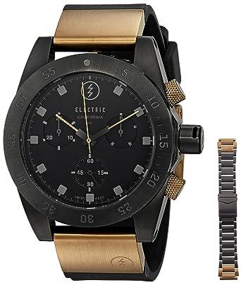 Electric Unisex EW0040040006 DW01 SWISS Analog Display Swiss Quartz Two Tone Watch