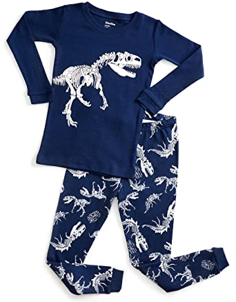 DinoDee Black Dinosaur Pajama 2 Years