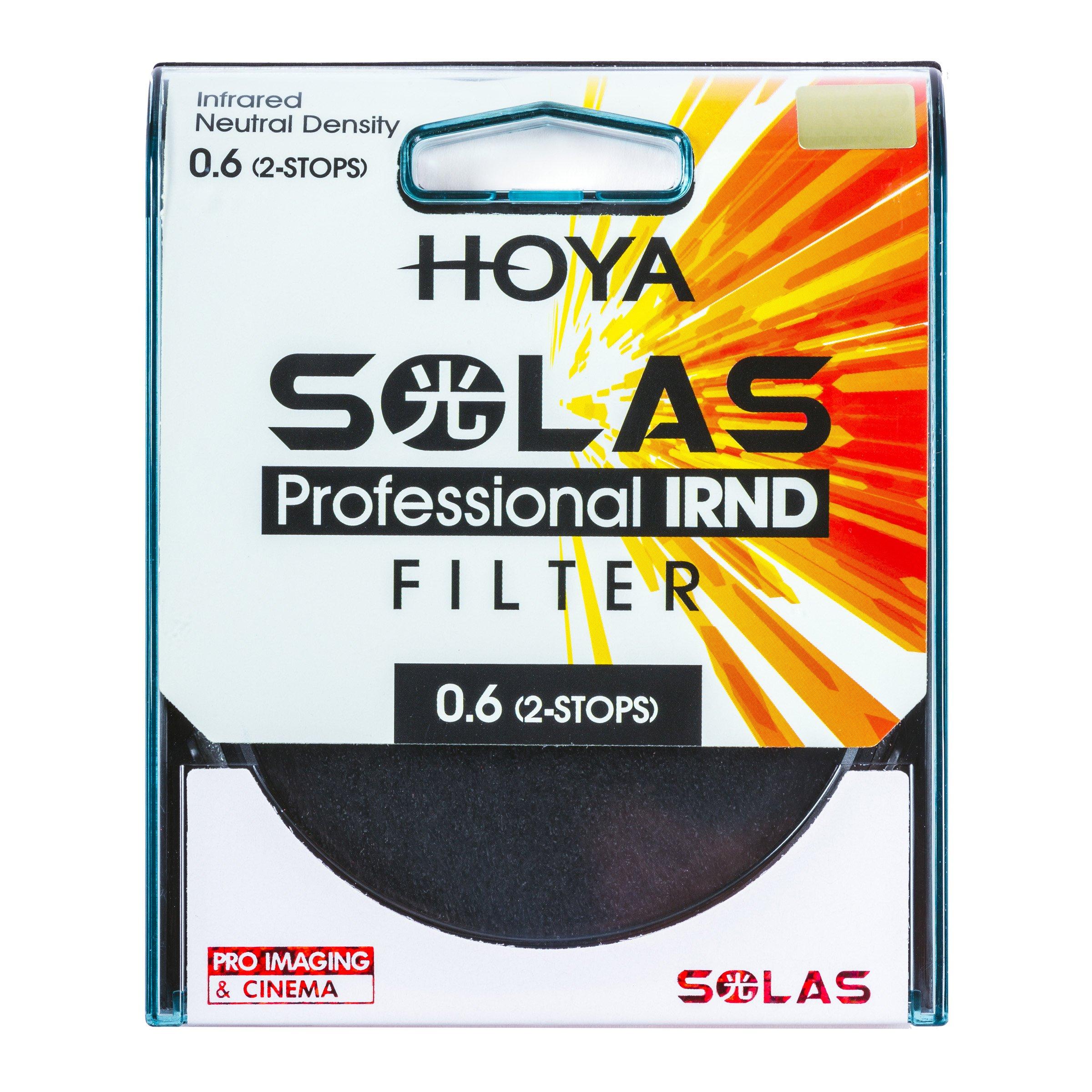 Hoya Solas IRND 0.6 52mm Infrared Neutral Density Filter