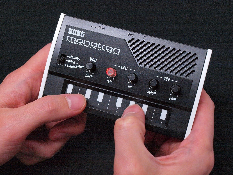 Korg MONOTRON - Sintetizzatore analogico Ribbon (altoparlante incorporato)