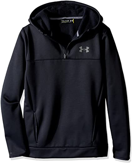 a6eb4a69b7 Under Armour Boys AF Storm 1/4 Hoodie
