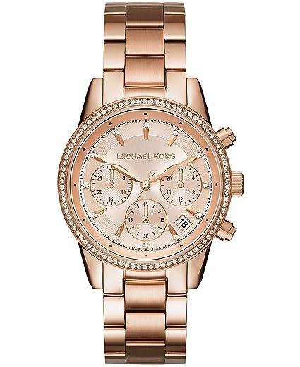 996538abc649 Michael Kors Women s Watch MK6357  Amazon.co.uk  Watches