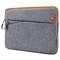 tomtoc 10.5-11 inch Tablet Sleeve Bag Compatible with New iPad Pro 2018, 10.5 inch iPad Pro, Microsoft Surface Go, Samsung Galaxy Tab, Fit for Apple Pencil & Smart Keyboard