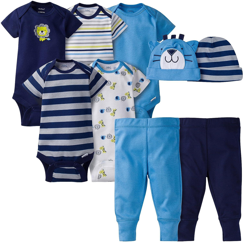 Amazon.com: Gerber Baby Boys\' 9 Piece Playwear Bundle: Clothing