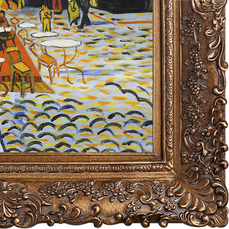 Vincent van Gogh The Night Cafe 1888 Vintage Impressionist Print Poster 32x28