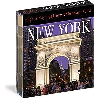 2018 New York Gallery Calendar [Idioma Inglés]