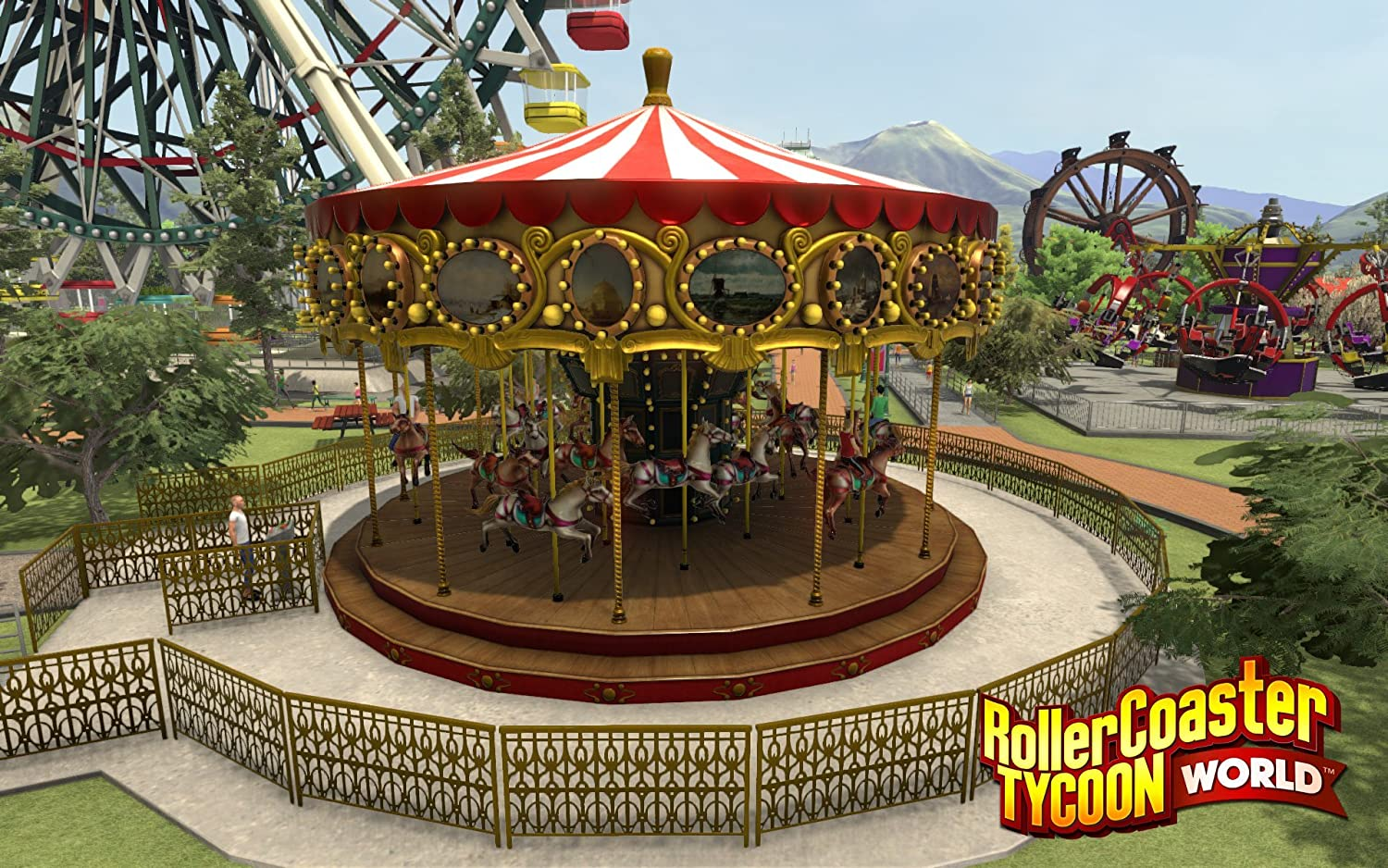 Amazon com: RollerCoaster Tycoon World PC DVD: Video Games