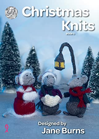 Kingcole Christmas Pattern  Book 4-13 xmas designs Not the finished Items