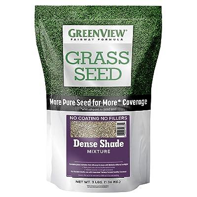 GreenView 2829342 Fairway Formula Grass Seed Dense Shade Mixture, 3 lb: Garden & Outdoor