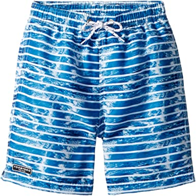 77d0bf02be Toobydoo Baby Boy's The Wave - Multi Blue Swim Shorts (Infant/Toddler/Little