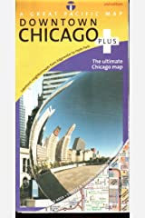 Chicago Map (Chicago Downtown Plus Road, Recreation & Transit Map, 2nd Edition) Map