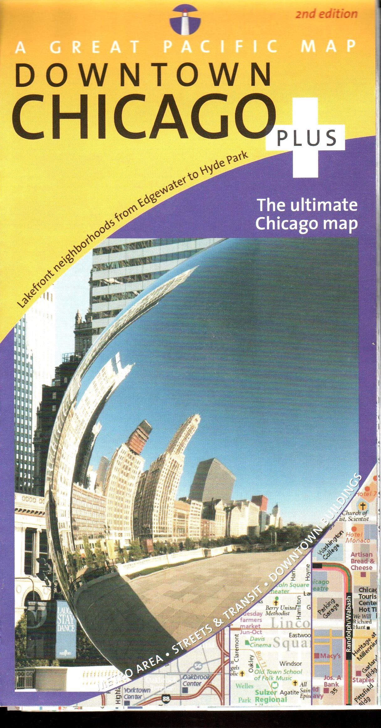 Chicago Map (Chicago Downtown Plus Road, Recreation ... on downtown chicago home, illinois map with hotels, baltimore inner harbor map with hotels, lake michigan map with hotels, san francisco map with hotels, o'hare airport map with hotels,