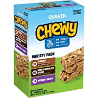 Deals on 58-Ct Quaker Chewy Granola Bars 3 Flavor Back to School Variety Pack