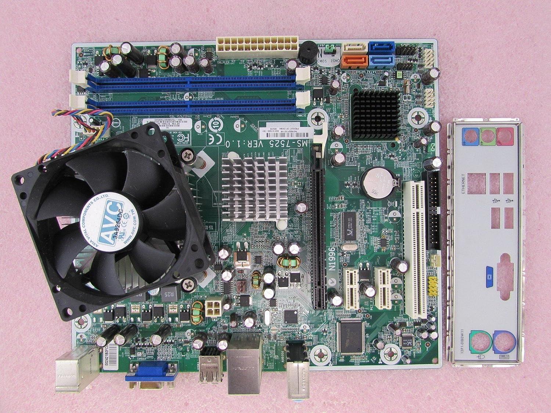 Hp Boston Gl6 517069 001 Msi Ms 7525 Motherboard C2d E5400 2 7ghz Cpu Fan Io Amazon Ca Electronics