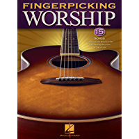 Fingerpicking Worship Songbook book cover