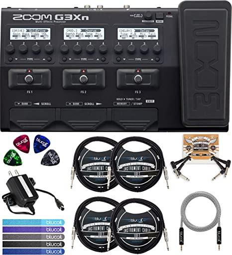 Zoom G3XN - Procesador multiefectos con software de amplificador ...