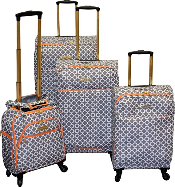 991aea5c8a3a Jenni Chan Broadway Collection Lightweight 4-PC Spinner Luggage Set ...