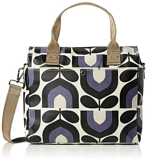2c0ee36341 Orla Kiely Women s Zip Messenger Messenger Bag Blue (Dusk)  Amazon ...