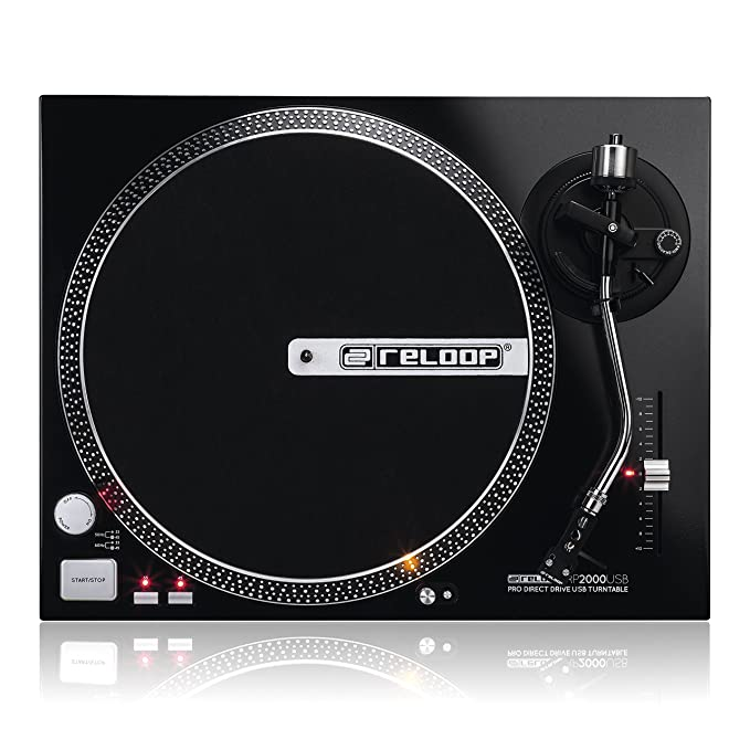 Amazon.com: Reloop Direct Drive USB Turntable: Musical ...