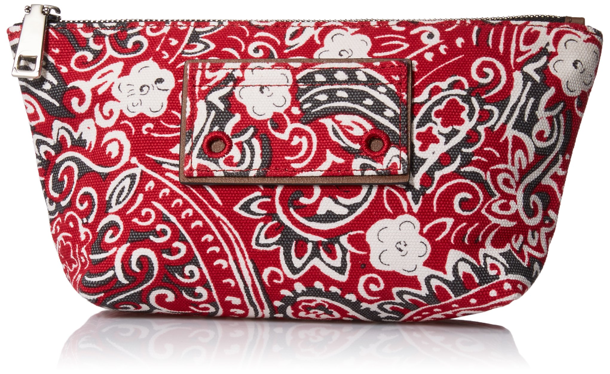 Marc Jacobs Paisley Cosmetics Trapezoid Bag, Chili Pepper Multi, One Size