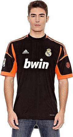 adidas Real Madrid C.F. - Camiseta de Portero (2ª equipación), 2012-13, M: Amazon.es: Ropa y accesorios