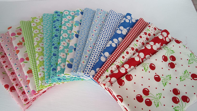 Badda Bing Me and My Sister Cherry Fabric Moda Fabrics ~ 18 Fat Quarters Bundle ~ 4.5 Yards Total